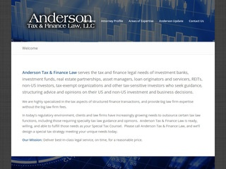 Anderson Tax & Finance Law, LLC