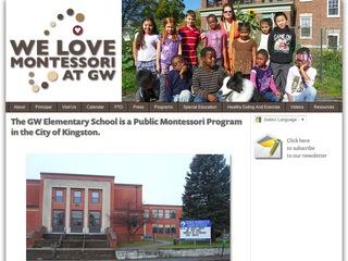 GW loves Montessori